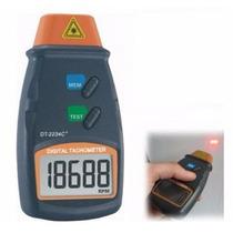 Tacómetro Digital Laser Rpm Motores Industria Mide Sin Tocar