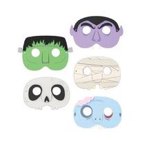 Mascaras Para Niños De Halloween 1 Pieza Diseño Variado