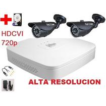 Kit Hd Dvr 2 Camaras Ir 720p Disco Balun Internet Cctv Hdmi