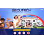 Sistema De Alarmas Inalambrica Secutech 6 Zonas Digital