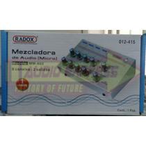 Mezcladora Audio *micro 8c 2sal Mm802 Dxr012415