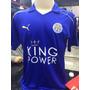 Camisa Leicester City 2016 / 17 Inglaterra Uniforme Oficial