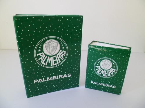 be4eb38e28 Dupla Álbuns Palmeiras 100 200 Fotos 10x15 - Oficial - R  37