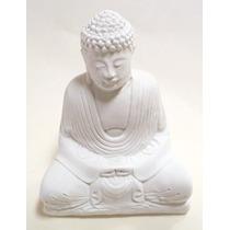 Pieza En Yeso: Buda Hindu Mediano.