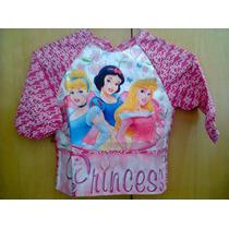 Delantal Escolar Princesas