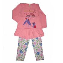 Conjunto Infantil Elegance Com Calça Legging