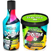Kit Inoar Doctor- Shampoo 250ml + Máscara Hidratação 450g