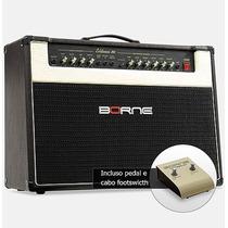 Amplificador Cubo Guitarra Borne Evidence 200 Preto 150w Rms