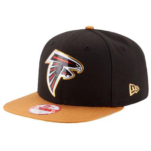 e7a83866e70ab Boné New Era Snapback Original Fit Atlanta Falcons Gold Col - R  159 ...