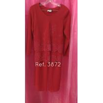 Conjuntos Señoriales Pantalón De Vestir Tallas Grandes P23