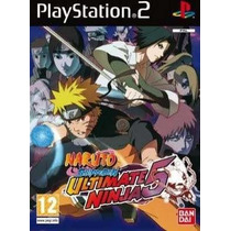 Naruto Shippuden Ultimate Ninja 5 Ps2 Patch Frete Unico
