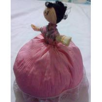 Muñeca De Hoja De Maíz, 25 Cm Totomoxtle. Artesanía Tlaxcala