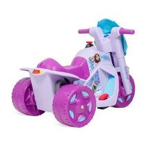 Moto Elétrica Infantil Scooter - Triciclo Elétrico 6v Menina