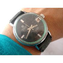 Relógio Mirvaine Automático Antigo Coleção Suiço Calendario