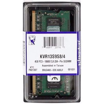 Memória Para Notebook 4gb Ddr3 Kingston Kvr13s9s8/4 Original