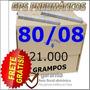 Grampo 80/08 -c/ 21.000- Grampos-frete Gratis - Pneumatico