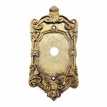 Placa / Espelho 4x2 Furo Passagem Modelo Colonial Decorativo