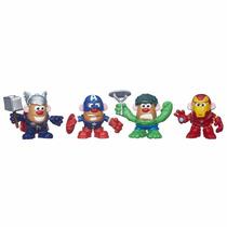 Sr Cabeça De Batata Herois Marvel 18 Peças - Hasbro B345