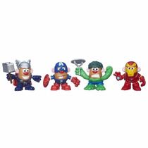 Playskool Senhor Batata Misture E Combine Heróis Marvel