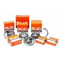 Caixa Direção Ybr Factor 125 Rolamentos Conicos Rug236