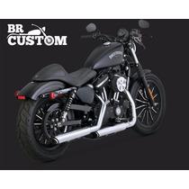 Ponteira Vance&hinestwin Slash 16861sportster Harley883/1200