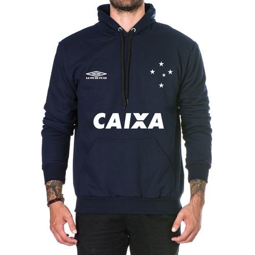 80389858c0a65 Moletom Blusa Frio Masculino Times Cruzeiro Casaco Top 2018 - R  67 ...