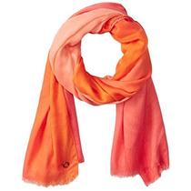 Bufanda Dip-dye Diagonal De Calvin Klein Mujeres Pareo Bufa