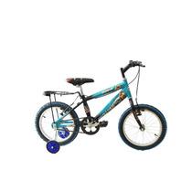 Bicicleta Infantil Bravia Rodada 16 Para Niño Con Casco