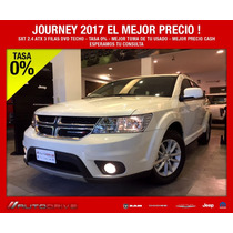 Dodge Journey Sxt 2.4 Atx (3filas+techo+dvd)at6 Nav 2017