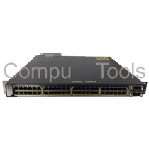 Swich Cisco Catalyst 3750-e 48 Puertos Con Fuente Redundante