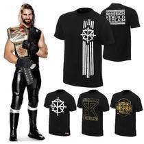 Wwe Polos Seth Rollins, Brock Lesnar, Dean Ambrose Y Gorras