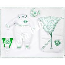 Saída Maternidade Palmeiras Luxo Oficial P/ Menino