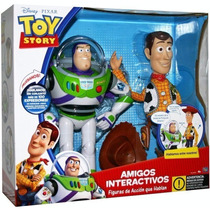 Toy Story Buzz&woody Interactivos 100 Frases Hablan Entre Si