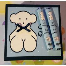 50 Puros De Chocolate Personalizados Nacimiento Baby Shower