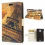 Capa Flip Torre Eiffel Para Nokia X2 Dual + Película
