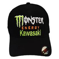 Boné Monster Energy Kawasaki