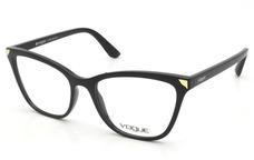 7955912d39957 Armação Vogue Acetato Estilo Retrô Para Grau - Vo2763 · Armação Oculos Grau  Vogue Vo5206 W44 Preto Original