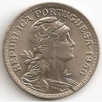 Portugal, 50 Centavos, 1956. Sin Circular