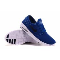 Zapatillas Nike Sb Janoski Max Azul!