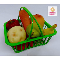 Canasta De Frutas De Juguete Envío Gratis! Regalo Niña