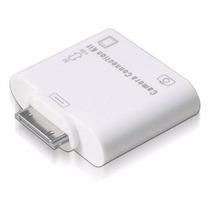 Leitor Apple Ipad Adaptador Usb Cartão Sd Câmera 2 Em 1