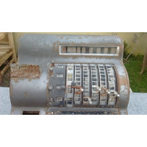 Antigua Máquina Registradora Marca National
