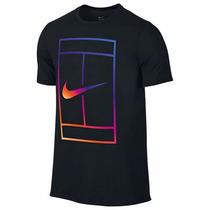 Playera Nike Court Cancha Tenis Logo Federer Nadal Djokovic