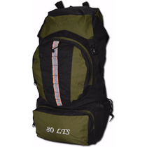 Morral Camping Bags 80 A 90 Litros Maleta Original 2 Años Ga