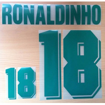 Ronaldinho 18 Brazil Local Olympic Games1996 Name Number Set