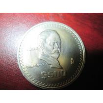 Moneda 500 Pesos 1986 Nickel Condicion Bu
