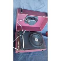 Vitrola Radiola Toca Disco Bordo Motoradio Antiga