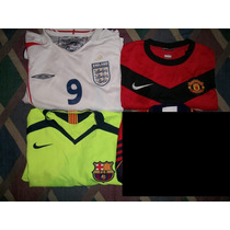 Jersey Camiseta Barcelona Manchester United Inglaterra 3x1