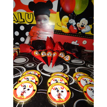 Candy Bar Personalizado Mickey Mouse