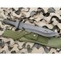 Cuchillo Yarara Comando Largo Total 37 Cm Hoja 24cm Sae 6150